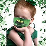St. Patrick's Day Washable Kids Face Mask, Cute