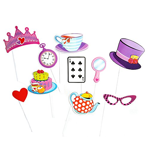 [Mad Hatter Tea Party Handheld Costume Props] (Mad Tea Party Costume)