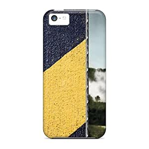 New Fashion Premium Hard Case Cover For Iphone 5c - V2 Launch In Colour