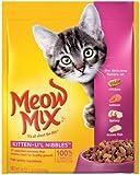 Meow Mix Kitten Li'l Nibbles Surp, 18-Ounce (Pack of 6), My Pet Supplies