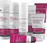 Paula's Choice SKIN RECOVERY Kit-Complete Facial Skin Care Routine -7 Products Kit Includes Facial Cleanser, Toner, Exfoliator, Serum, Daytime Moisturizer with SPF & Night Cream Face Mask