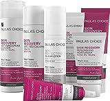 skin care routine serum or moisturizer first Paula's Choice SKIN RECOVERY Kit-Complete Facial Skin Care Routine -7 Products Kit Includes Facial Cleanser, Toner, Exfoliator, Serum, Daytime Moisturizer with SPF & Night Cream Face Mask