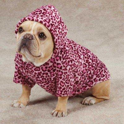 Casual Canine Animal Print Cuddler, Small/Medium, Pink Leopard