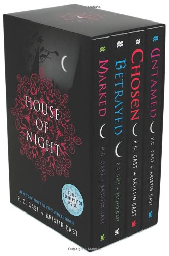 Lost Cast - House of Night, Books 1-4 (Marked / Betrayed / Chosen / Untamed)