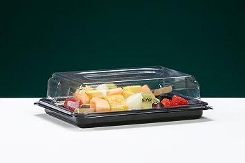 Eden Elfos 25 x Mini Buffet Catering partyfood Sandwich bandeja bandejas con fijación a presión tapas