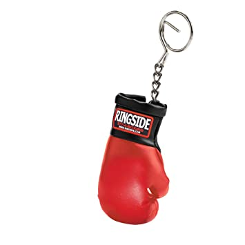 Ringside Guantes de Boxeo Llavero - BGKR RD.BK, Rojo/Negro ...