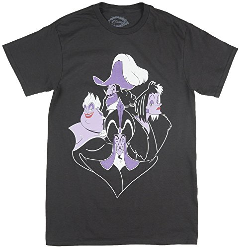 Halloween Villains Disney (Disney Villains Mens T-Shirt in)