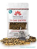 15 Day Natural Weight Loss Detox Tea | Bloating Relief Total Tea for Best Appetite Suppressant Cleanse & Teatox | Fitness Slimming | No Laxative Senna or Pills | Free Diet Included | BONUS STRAINER For Sale