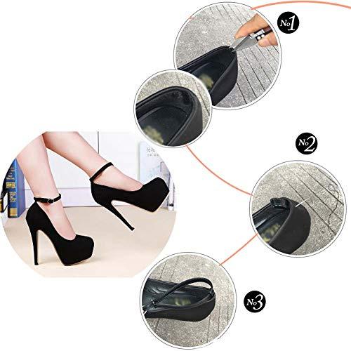 per Decorazioni per Accessori Cinturini da scarpe calzature Tacchi alti A35 Paradise antiscivolo donna Wukong Scarpe w78qfqz