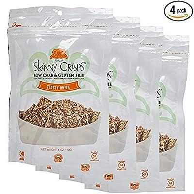 Skinny Crisps Low Carb Gluten Free Gourmet Crackers