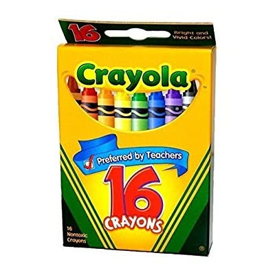 Crayola Classic Color Pack Crayons 16 ea ( Pack of 2): Toys & Games