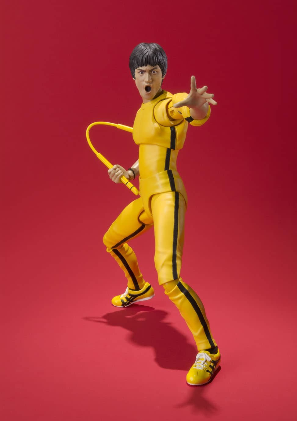 Figuarts Bruce Lee Yellow Track Suit Action Figur Bandai Tamashii Nations S.H
