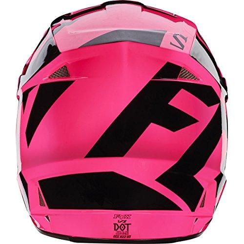 Fox Racing 2017 Race Adult V1 Motocross Motorcycle Helmets - Pink / Medium