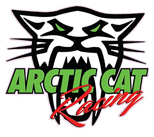 Arctic Cat Racing Decal 5