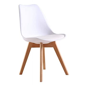 Amazon.com: GP Eames Plastic Dining Table and Chairs Casual ...