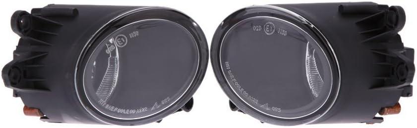 Nebelscheinwerfer Nebel Lampe Objektiv 1/Paar f/ür A4/B6