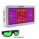 JUHANG 1500w Full Spectrum Plant Grow Light,LED Grow Light for Indoor Plant Flowering Growing and Greenhouse Hydroponics Growing System(Including LED Grow light Glasses)