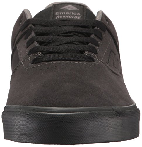 da Emerica Vulc The Reynolds BLACK Skateboard Low GREY DARK Scarpe da Uomo 4Fw0BrFqC