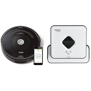 iRobot - Set con Roomba 671 Robot Aspirador para Suelos Duros y Alfombra, Tecnología Dirt Detect, ...