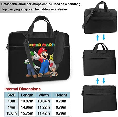NDSXTLCA Steven Universe Spinel 17.3-Inch Laptop Shoulder Sleeve Bag Case with Handle for 17 17.3 Acer Dell Hp Classic Colorful 15.6 inch
