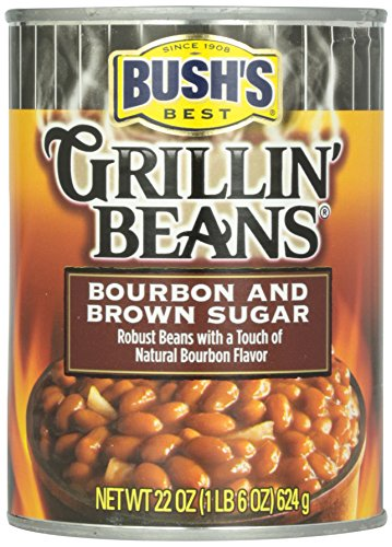 Bush's Best Bourbon and Brown Sugar  Grillin' Beans 22 oz