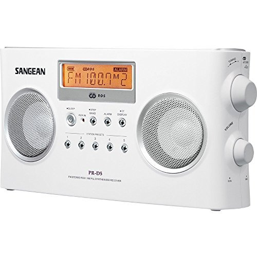 Sangean All in One Compact Portable Digital AM/FM Radio with