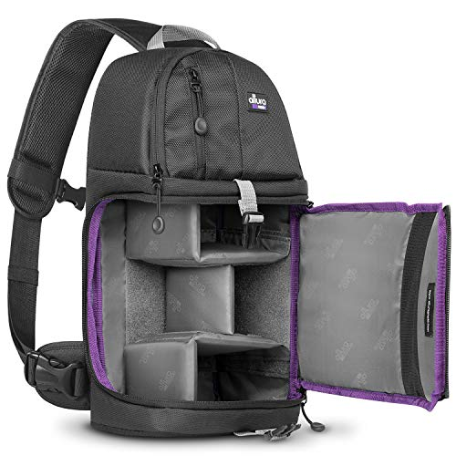 Altura Photo Camera Sling Backpack for DSLR and Mirrorless Cameras (Canon Nikon Sony ()