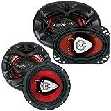 New BOSS CH6530 6.5 300 Watt + Boss CH4630 4x6 250 Watt Car Audio Speakers