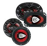 New BOSS CH6530 6.5' 300 Watt + Boss CH4630 4x6' 250 Watt Car Audio Speakers