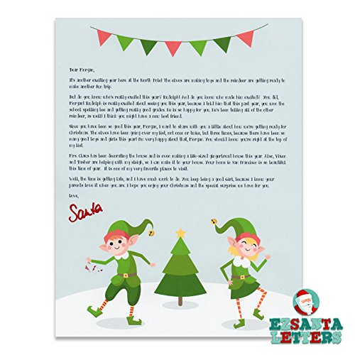 letter from santa santa letter child with accomplishments