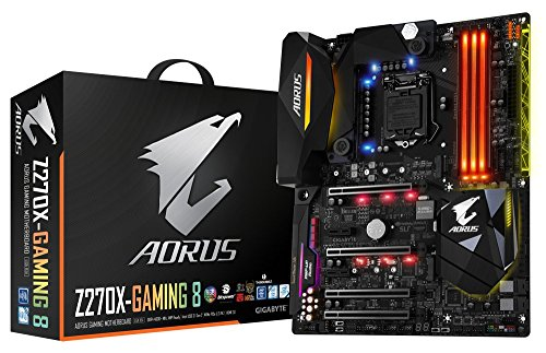 Gigabyte Technology AORUS GA-Z270X-Gaming 8 Gaming Mother...
