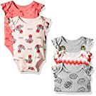 Rosie Pope Baby 5 Pack Bodysuit, Red, 3-6 Months