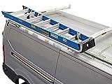 Kargomaster K47-4090L Single Clamp & Lock Van Ladder Rack System