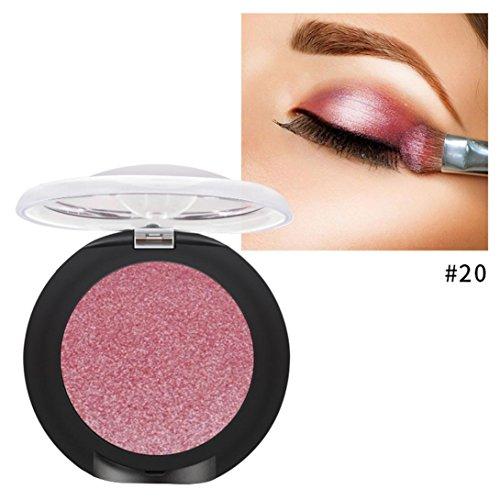 Oksale® 20 Colors Eyeshadow Powder Diamond Makeup Pearl Met