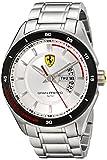 Ferrari Men's 0830187 Gran Premio Analog Display Quartz Silver Watch