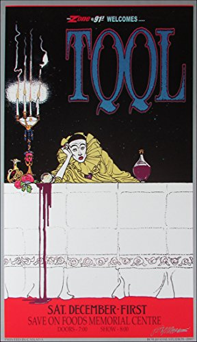 Tool Zone 91.5 Poster Original Lithograph Hand-Signed by Bob Masse