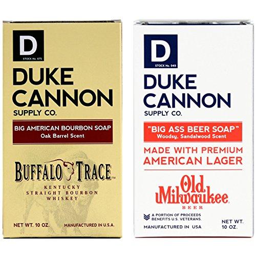 Duke Cannon Big Brick of Soap Set: Bourbon + Beer - Early American Soap