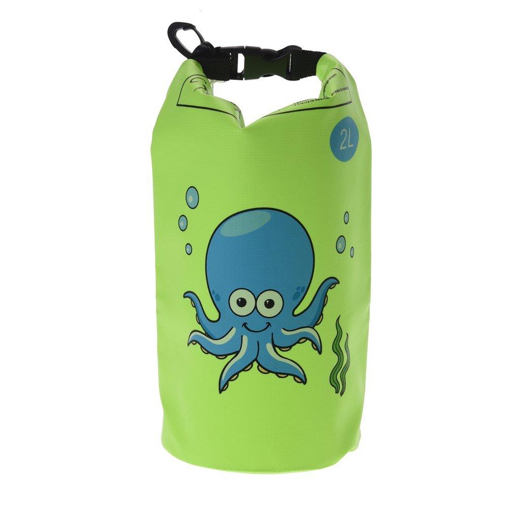 Dry Bag motivo per bambini 2 litri campeggio Borsa impermeabile per bambini da viaggio Orange sport acquatici 30 litri di volume