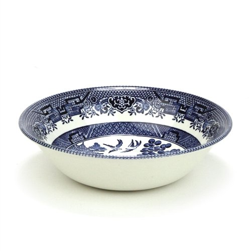 Blue Willow by Churchill, Stoneware Fruit Bowl, Individual ()