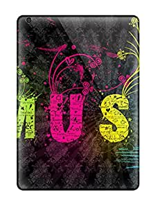 Music Art Awesome High Quality Ipad Air Case Skin 7235698K31043429