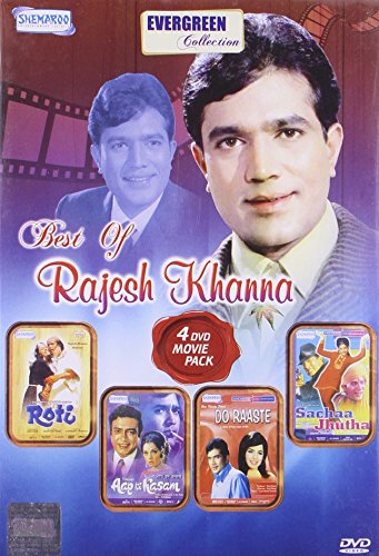 Best Of Rajesh Khanna (4 Dvd Movie Pack) (Roti/ Aap Ki Kasam/ Do Raaste/ Sachaa Jhutha)