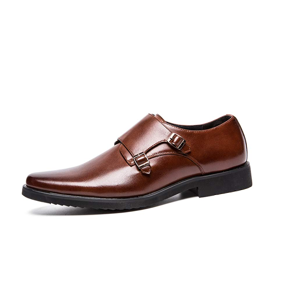 GBY Herren Business Oxford Casual Classic Solid Farbe Outsole Outsole Outsole Bequemer Slip On Formelle Schuhe Halb Formale Schuhe  223889