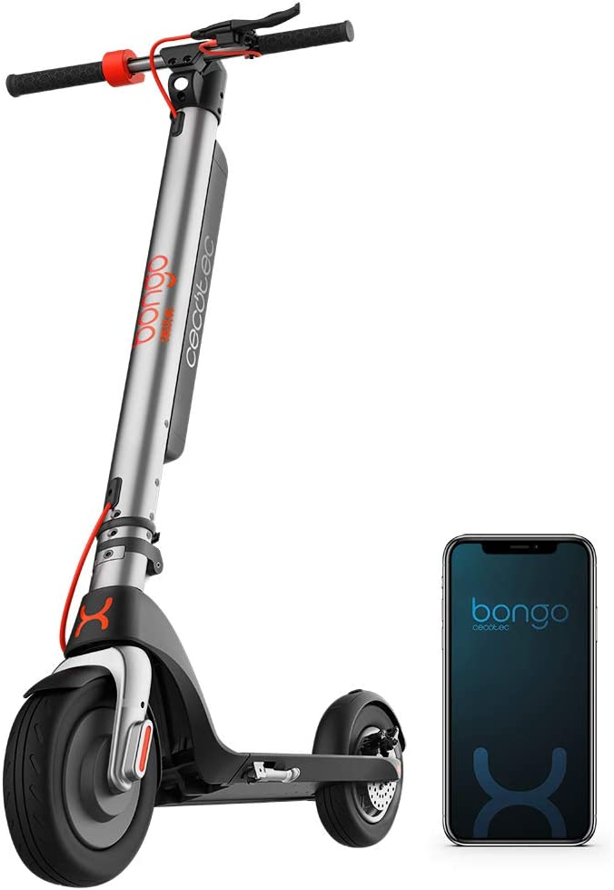 "Cecotec Patinete eléctrico Bongo Serie A. Potencia máxima de 700 W, Batería Intercambiable, autonomía ilimitada hasta 25 km, Ruedas Tubeless antirreventón de 8,5"", 3 Modos de conducción"