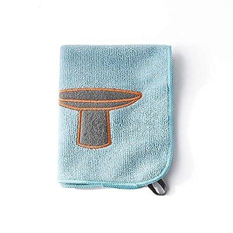 Mindruer - Toallas de microfibra multifunción para la limpieza de la cocina 34x27cm azul: Amazon.es: Hogar