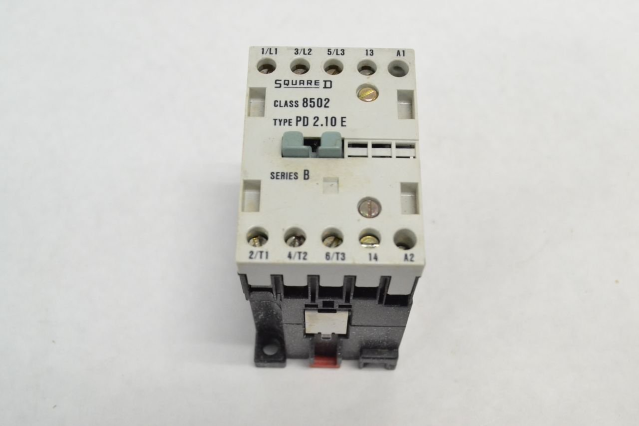 Contemporary Wiring D Diagram Square Contactor 8536s Composition ...