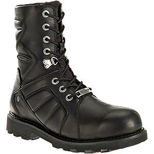 Harley-Davidson Men's Vance Black FXRG Motorcycle Boots. D96082 (Black, 11.5)