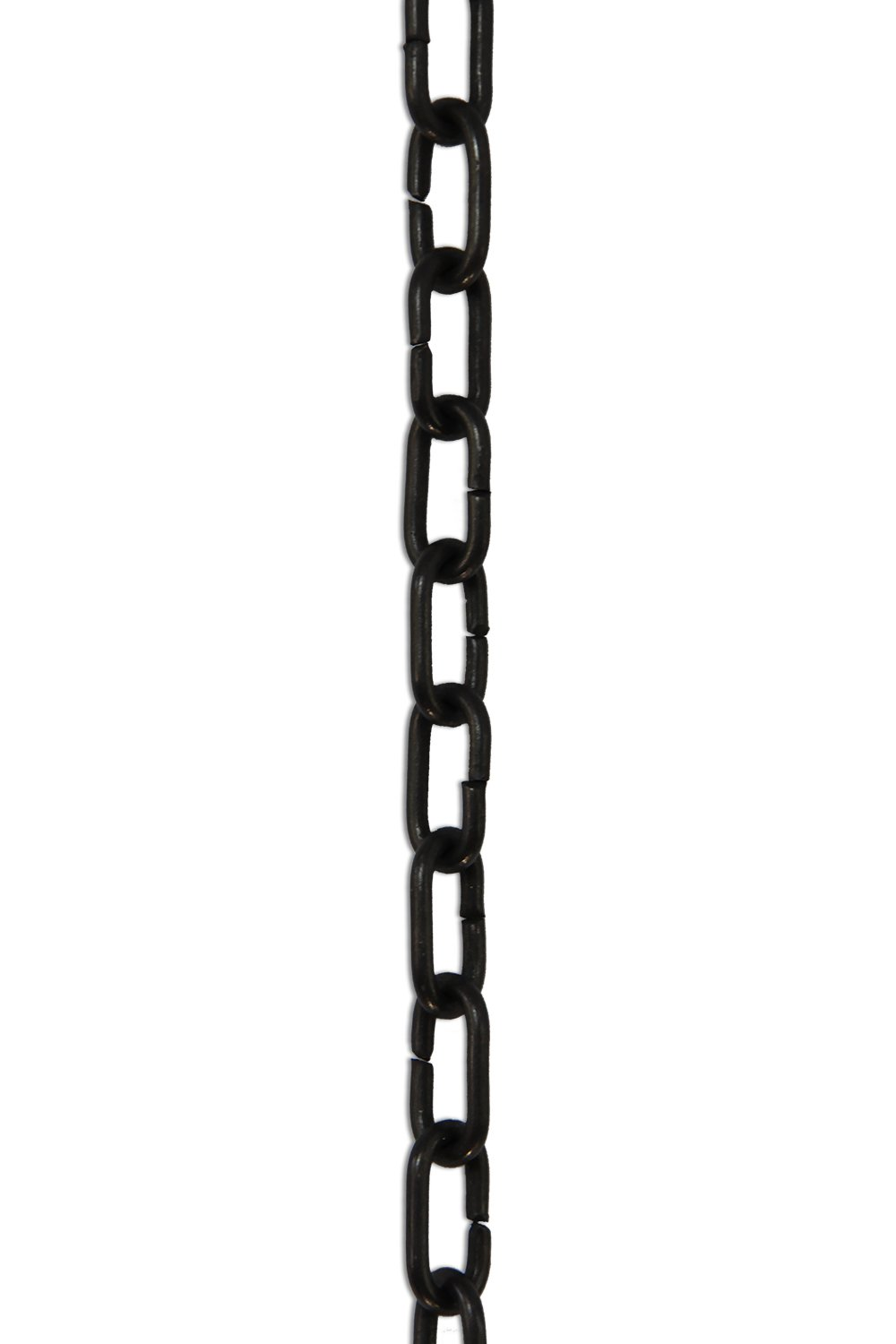 1 Foot RCH Hardware CH-07-OBB Decorative Polished Solid Chain for Hanging Oil Bronzed Black Lighting-Standard Unwelded Links