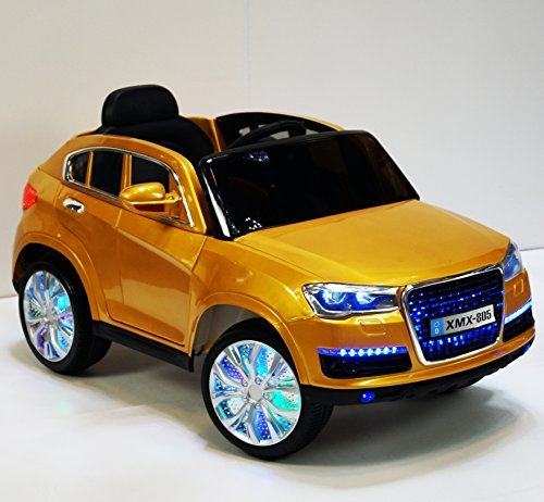amazoncom audi q7 style ride on toy car for kids w remote control battery operated cars4kids toys games