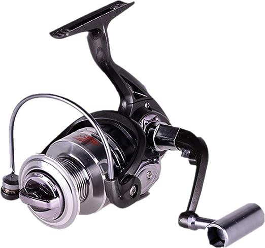 Cañas de Pescar Spinning Spinning Fishing Reel 13 + 1 Bearings ...