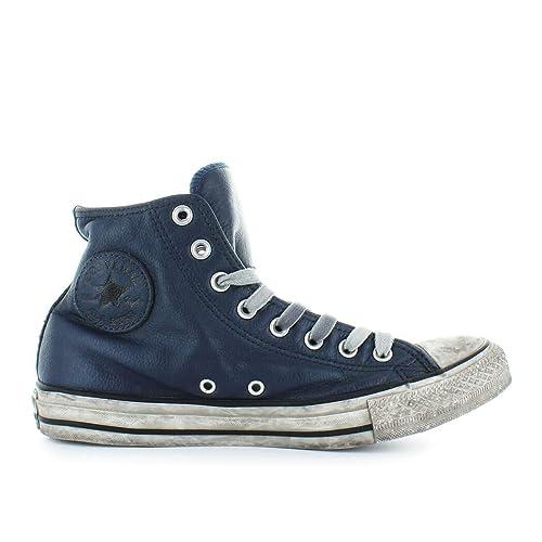 e695cb127 CONVERSE 162906C edición Limitada Azul Marino Zapatos Zapatillas Hombre  Altos Cordones de Cuero 41  Amazon.es  Zapatos y complementos